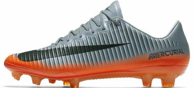 Nike Mercurial Vapor XI CR7 Firm Ground - Grey Cool Grey Wolf Grey Total Crimson Metallic Hematite Cool Grey Wolf Grey Total Crimson Metallic Hematite
