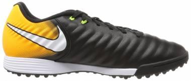 Nike TiempoX Legend VII Academy Turf - Black Black White Laser Orange Volt (897766008)