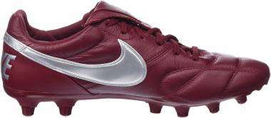 Nike Premier II Firm Ground - Red (Team Red/Metallic Silver/Team 606)