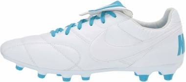 Nike Premier II Firm Ground - White/Blue (917803142)