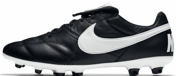 check out 3f3f5 40e71 Nike Premier II Firm Ground Black