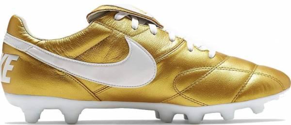 Nike Premier II Firm Ground Gold