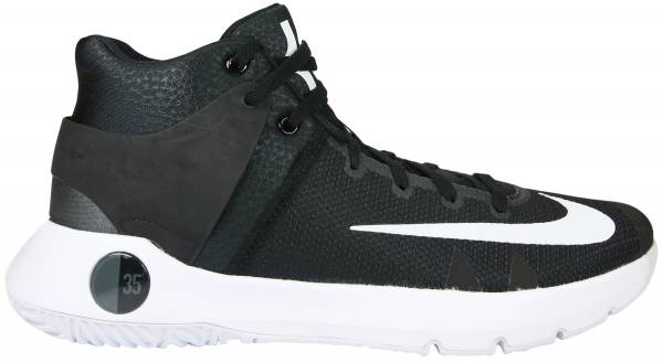 Nike KD Trey 5 IV - Schwarz Black White Dark Grey (844571010)