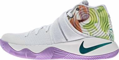 Nike Kyrie 2 - Blanc / Bleu / Noir (Wht / Hypr Jd-urbn Llc-brght Mng)