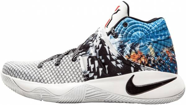 huge selection of a3d23 52128 Nike Kyrie 2 multi-color, black-sail