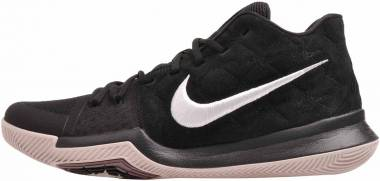 Nike Kyrie 3 - Black/White-silt Red