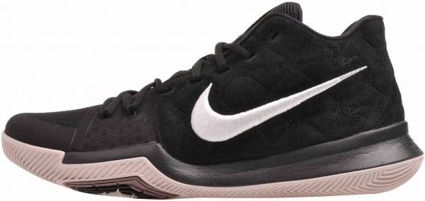 Nike Kyrie 3 - Black White Silt Red