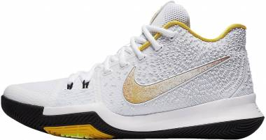 dbf48e193657 Nike Kyrie 3 N7 White White-varsity Maize-black Men