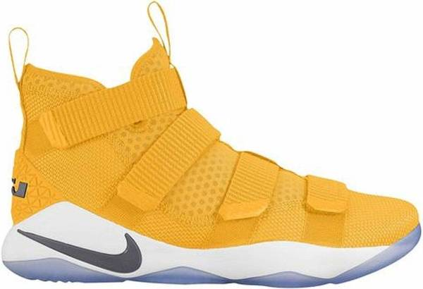 Nike LeBron Soldier XI - University Gold/White (943155703)