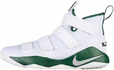 Nike LeBron Soldier XI - White/Green