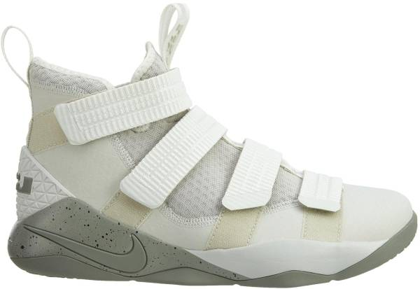 Nike LeBron Soldier XI - Light Bone/Dark Stucco-black