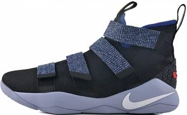 Nike LeBron Soldier XI - Black/White-deep Royal Blue (897644005)