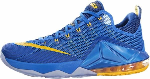 Nike LeBron XII Low - Blue (724557484)