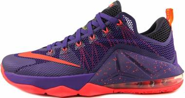 Nike LeBron XII Low - Purple (724557565)