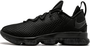 Nike LeBron XIV Low Black / Black-dark Grey Men