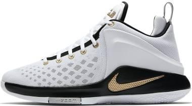 Nike LeBron Zoom Witness - White/Metallic Gold-black