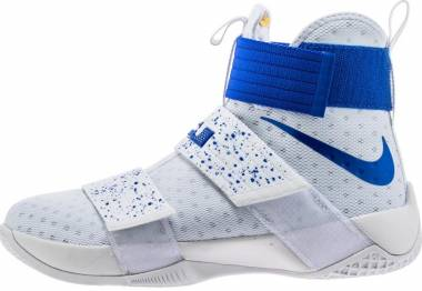 Nike Zoom LeBron Soldier 10 - Blue (844374164)