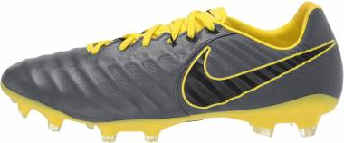 Nike Tiempo Legend VII Pro Firm Ground - Grey Dark Grey Black Opti Yellow 070 (AH7241070)