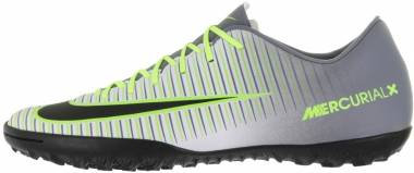 Nike MercurialX Victory VI Turf - Pure Platinum/Black-ghost Green (831968003)