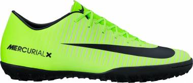 Nike MercurialX Victory VI Turf - Black Green (302701950)