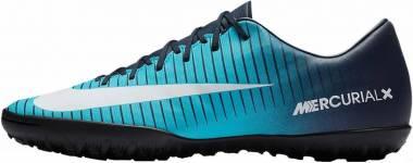 Nike MercurialX Victory VI Turf - Blue (831968404)