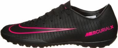 Nike MercurialX Victory VI Turf Black/Pink Blast Men