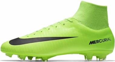 Nike Mercurial Victory VI Dynamic Fit Firm Ground - Green Electric Green Flash Lime White Black (903609303)