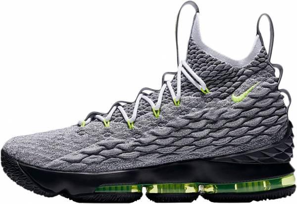 Nike LeBron 15 - cool grey, volt-wolf grey (AR4831001)