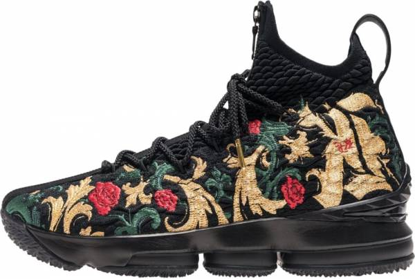Nike LeBron 15 - black, black-multi-color (AJ3936002)