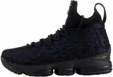 Nike LeBron 15 - black, metallic silver-black
