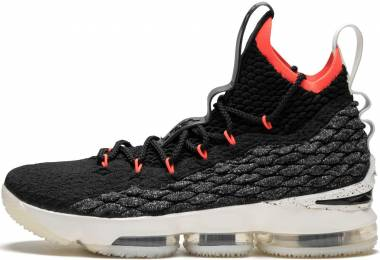 promo code ec0a7 24e2f Nike LeBron 15 Black, Sail-bright Crimson Men