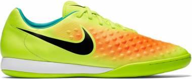 Nike Magista Onda II Indoor Volt/Black/Total Orange/Clear Jade Men