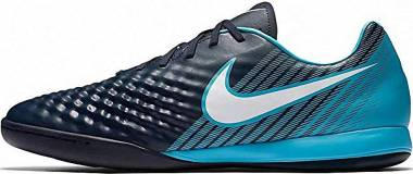 Nike Magista Onda II Indoor - Blau Obsidian Blau Weiß Gamma Blau Gletscher Blau 414 (844413414)