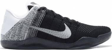 Nike Kobe 11 Elite Low - White, Black-court Purple (822675105)