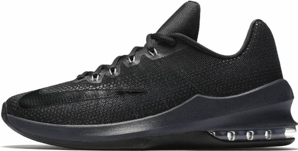 sports shoes b99ce 83691 Nike Air Max Infuriate Low Black Black-anthracite