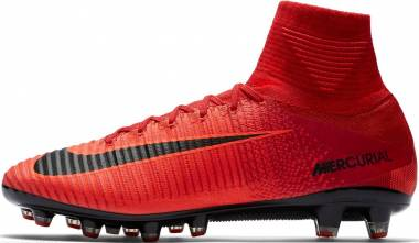 best authentic 258a1 291c9 Nike Mercurial Superfly V Artificial Grass Pro University Red Black Men