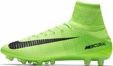 f48ab7633 Nike Mercurial Superfly V Artificial Grass Pro Verde (Electric  Green Black Ghost Green