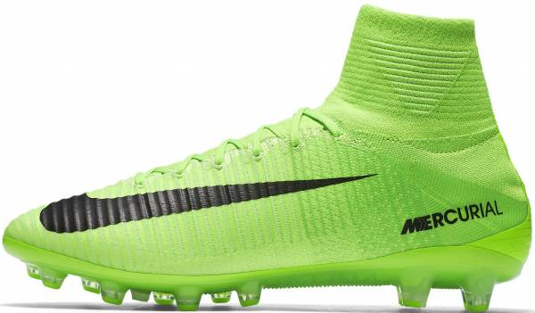 623a9ec5833 Nike Mercurial Superfly V Artificial Grass Pro Electric Green Ghost  Green White Black