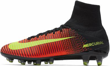 on sale f4b4f cdd96 Nike Mercurial Superfly V Artificial Grass Pro Naranja (Total Crimson    Vlt-blk-