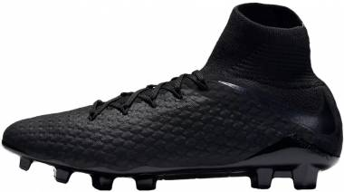 Nike Hypervenom Phantom III Pro DF Firm Ground Black Men