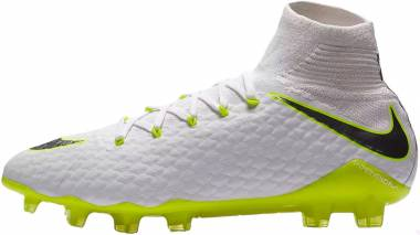 Nike Hypervenom Phantom III Pro DF Firm Ground - White Weiß Weiß (AJ3802107)