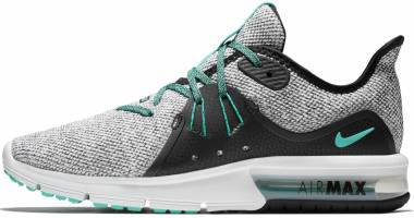 Nike Air Max Sequent 3 - White Hyper Jade Black (908993100)