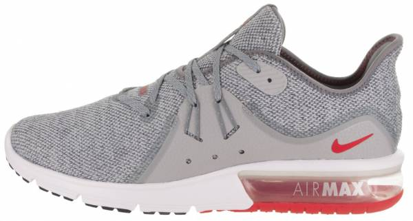 competitive price 2023e 301b6 Nike Air Max Sequent 3 Cool Grey University Red 060
