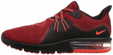 Nike Air Max Sequent 3 - Black/Total Crimson/University Red (921694066)