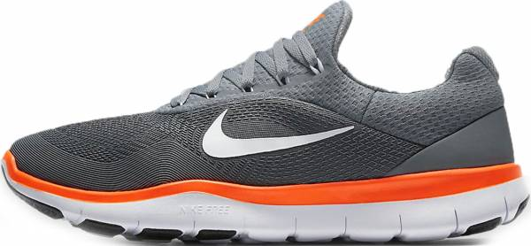 Nike Free Trainer v7 - Grau Cool Grey Black White Hyper Crimson (898053001)