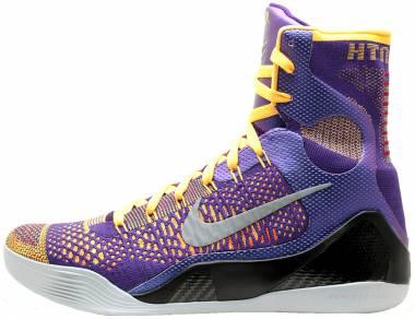 Nike Kobe 9 Elite - Crt Prpl, White-lsr Orng-wlf Gr