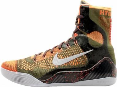 Nike Kobe 9 Elite Sq/Rflctv Silver-Rch Grn-Hypr Crmsn Men