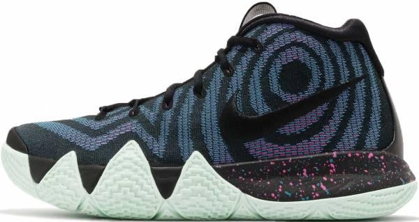 Nike Kyrie 4 - Black Black Black Laser Fuchsia 007 (943807007)
