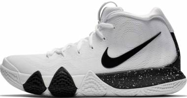 finest selection 42656 1d51d Nike Kyrie 4 White Black Men
