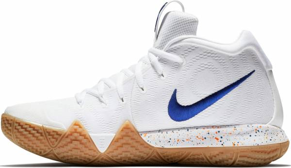 Nike Kyrie 4 - White White Deep Royal 100 (943807100)